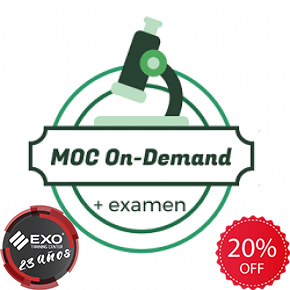 EXO 40 AÑOS - Microsoft® MOC On-Demand + Examen