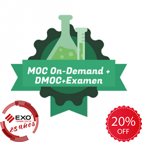 EXO 40 AÑOS - Microsoft® MOC On-Demand + DMOC + Examen